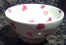 emma bridgewater pink hearts  French bowl  new FIRST QUALITY !