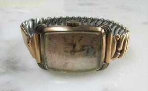 Vintage Women's Bulova 14K RGP Wristwatch; 17 Jewels ~ 6-G3203