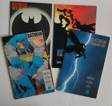 BATMAN THE DARK KNIGHT #1-4 High Grade LOT 1986 all 1st Print FRANK MILLER