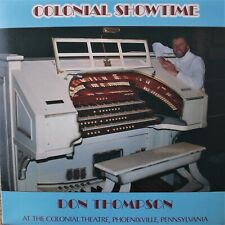 Don Thompson Colonial Showtime private press pipe organ lounge LP Kimball