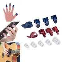 10pcs//Set bunte Elektro akustische Gitarre Bass nimmt Pickup Plektrum Stärk
