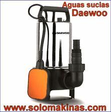 BOMBA SUMERGIBLE AGUAS SUCIAS DAEWOO 220V 900W