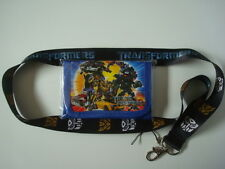 LOT New*TRANSFORMERS* Kids Wallet + Lanyard/Cell Phone Strap OPTIMUS PRIME (S/D)