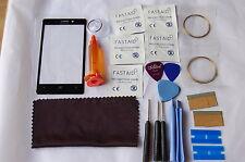 Nokia Lumia 925 Frontal Pantalla de Vidrio, Kit de reparación, Loca Glue, corte de alambre, más