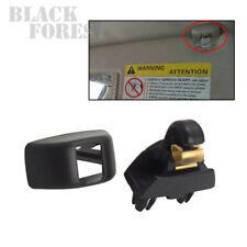 1x Sun Visor Clip (Black) For VW AUDI A6 05-13 SKODA CITIGO 2012-2015 6R0857561