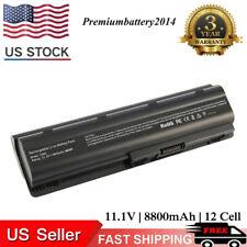 for HP Pavilion dv7 dv6 dv5 g6 g7 dm4 G72 593553-001 COMPAQ Battery 12 Cell USA