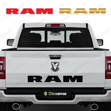 Dodge Ram 1500 2500 3500 Pickup Truck Tailgate Vinyl Decal Sticker Racing Sport