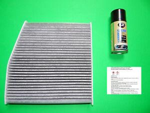 Innenraumfilter mit Aktivkohle + Klimareiniger Mercedes Benz CLA (C117, X117)