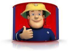 "Fireman Sam Ceiling Lamp Shade 11"" Nursery Kids Free P & P"