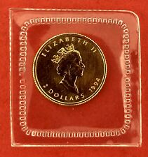 1994 1/15th oz Gold Maple .9999 Coin 1/15 One Year Type $2 Low Mintage 3540