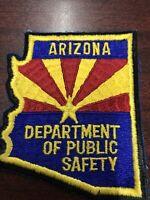 Arizona Dept Public Safety Patch  Rare 1st Issue !!!!