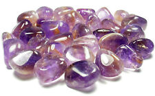 TUMBLED - (1) Large AMETRINE Crystal with Description Card - Healing Stone Reiki