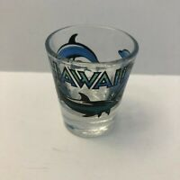 Vintage 1993 Hawaii Dolphins Shot Glass Shotglass