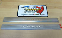 2013-2017 Dodge Dart Front Door Sill Entry Guards Stainless Steel Mopar OEM