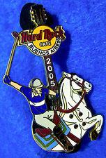 BUENOS AIRES ARGENTINA POLO EQUESTRIAN SPORT HORSE GUITAR Hard Rock Cafe PIN LE