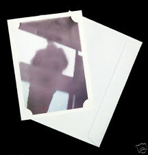 25 7x5 White Blank Photo Cards and white envelopes