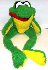 """FROG Toad Plush w/ Long Red Poseable Tongue from Classic Toy 2010 Large 29"""""""