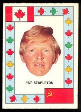 1972 73 OPC O PEE CHEE TEAM CANADA PAT STAPLETON NM VS RUSSIA HOCKEY SERIES