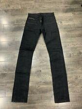 Giuliano Fujiwara Selvage Selvedge Jeans Denim Tagged 29 Black Raw APC