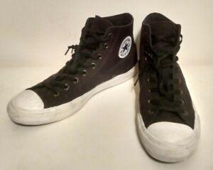 Converse All Star Chuck Taylor II 2 Canvas Shoes Hi Top  Black 150143C Sz 11