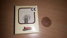Miniature E5 Light Bulb + Holder - Model Railway Scenery / Building Illumination