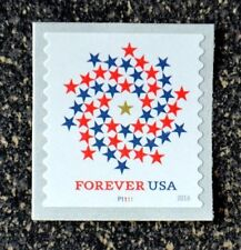 2016USA #5130 Forever Patriotic Spiral - PNC Plate Number Coil Single  (#P1111)
