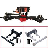 Metal Servo Bracket Mount for 1/10 AXIAL SCX10 II 90046 90047 Axle AR44 RC Car