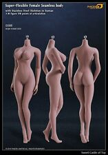 1/6 Phicen Super-Flexible Steel Skeleton Seamless Suntan Large Bust S06B Body