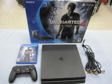 PlayStation 4 Slim 500GB Console - Uncharted 4 Bundle PS4
