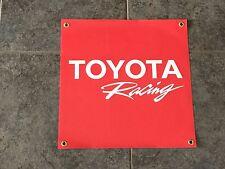 Toyota Racing banner sign Motor Sports drifting off-road baja stock car Tacoma