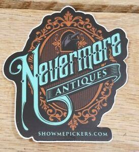 "3"" Nevermore Antiques Logo Sticker"