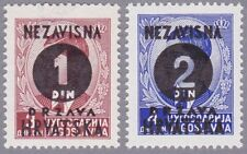 Kroatien 1941 Mi.Nr. 41-42 ungebraucht