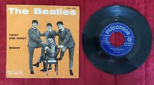 THE BEATLES  - TWIST AND SHOUT 45 giri 1964 Italy