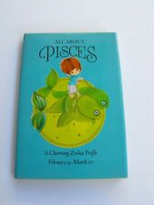 1970 Hallmark All About Pisces A Charming Zodiac Profile Hardcover Hallmark