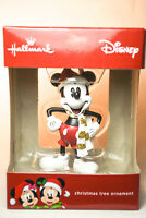 Hallmark: Mickey Mouse - With White Scarf - 2017 Holiday Ornament