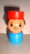 FIGURINE FIGURE VINTAGE EDUCALUX CONDUCTEUR TRAIN (5x3cm)