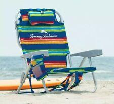 Tommy Bahama Backpack Folding Beach Camping Deck Chair Recliner Garden Cool Bag
