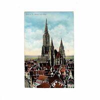 AK Ansichtskarte Ulm an der Donau / Münster von Osten - 1909
