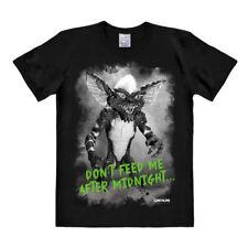 Camiseta LOGO - película - monstruo - gremlins - después negro medianoche - camiseta-