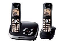 Panasonic KX-TG6522GB Duo Schnurlostelefon mit AB und zusätzlichem Mobilteil