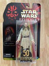 """Star Wars Black Series 6"""" Qui-Gon Jinn Ep 1 Phantom Menace Vintage New Best Buy"""