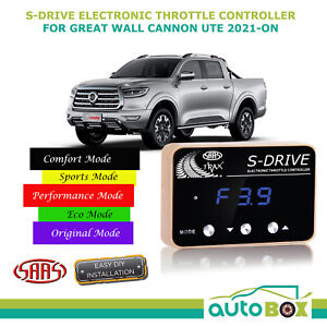 SAAS Electronic Throttle Controller for Great Wall Cannon 2021-On S Drive Boost