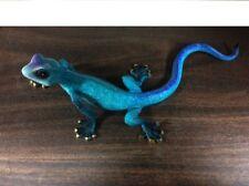 Cute! ~ Big Blue ~ Gecko or Lizard ~ Wall Art Home Decor ~ Figurine Statue