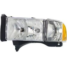 For Ram 1500 99-01, Driver Side Headlight, Clear Lens