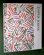 1977 Jasper JOHNS  WHITNEY Museum MONOGRAPH Michael CRICHTON FIRST ED. FOLD-OUTS