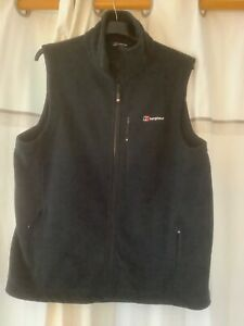 Berghaus gilet, XL in black. Little use, in excellent condition