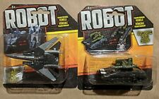 Transformers ROBOTS knock off bootleg LOT: transforming fighter JET & TANK mecha
