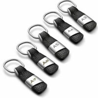 Real Leather Key Chain Keyring for Audi Q3/Q5/Q7/A3/A4/A5/A6/A7/A8/S3/Sline Car