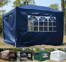 More details for new garden heavy duty pop up gazebo marquee party tent wedding canopy 4 sizes