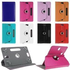 "Universal 360° Rotating Leather Case Cover ALL 10"" & 10.1"" LENOVO SAMSUNG KINDLE"